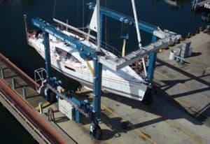 35 ton capacity travelift