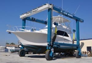 boat lift for 50 ton yachts