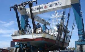 1000 ton capacity boat lift