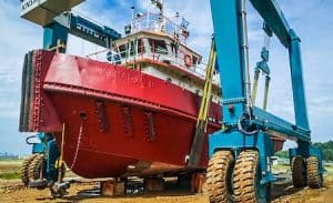 200 Ton Industrial Grade Marine Travelift