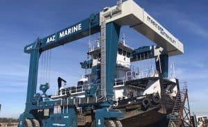 Marine Travelift 400TG Workboat