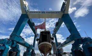 820 ton capacity Marine Travelift