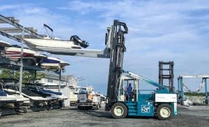 23,000 lbs boat forklift