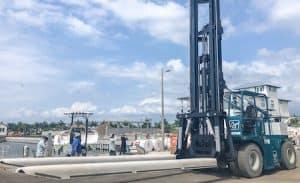 28000 lbs marine forklift