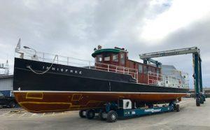 40 ton hydraulic travelift trailer