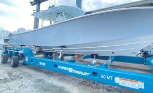 60 Ton Capacity Travelift for Moving Yachts