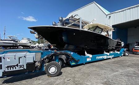 Yacht Hydraulic Transporter