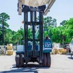 Drystack Boat Forklift Operator Cab