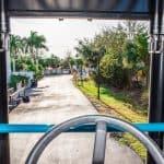 Driving Marine Travelift Forklift
