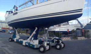 Sailboat Transporter Trailer