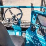 Forklift Controls for Marine Travelift Center Cab