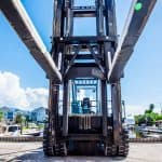Clearest Operator View for Marina Forklifts