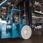 Operating Marine Travelift Forklift