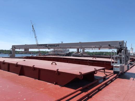 ship hatch cover crane Marine Travelift
