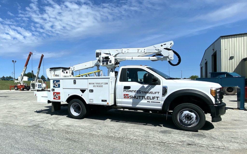 Maintenance Truck for Boat Handling Equipment